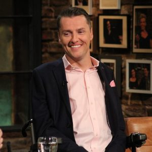Stephen cluskey on the late late show